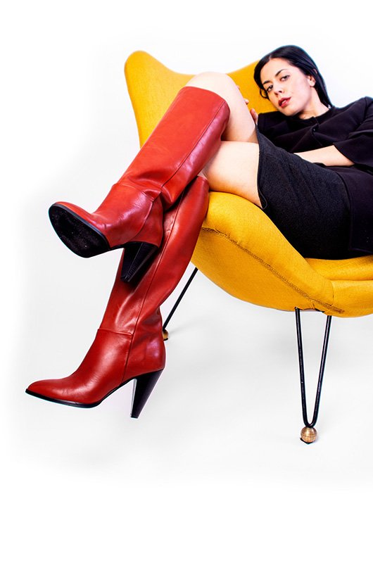 Stivale Modo Rosso Women Shoes Boots